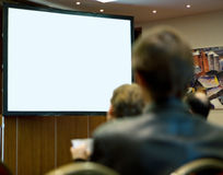 konferencja folował target1328_0_ sala ludzi Obraz Royalty Free