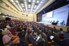 Konferencja Międzynarodowa Real Estate Managementin Korporacja Fotografia Stock
