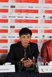 Konferencja prasowa 39th Moskwa Międzynarodowy Ekranowy festiwal Fotografia Stock