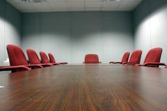 konferencja pusty pokój Zdjęcia Royalty Free