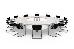 Konferencja stół Obraz Royalty Free