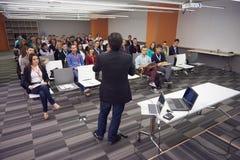 Konferencyjny mówca Fotografia Stock