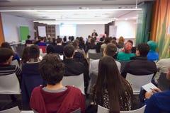 Konferencyjny mówca Zdjęcie Stock