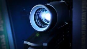 Konferencyjny projektor zbiory wideo