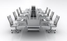 konferencyjny stół Zdjęcie Royalty Free