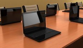 Konferencyjny stół ilustracja wektor