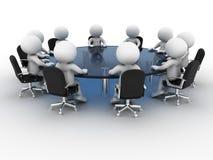 konferencyjny stół Obraz Stock