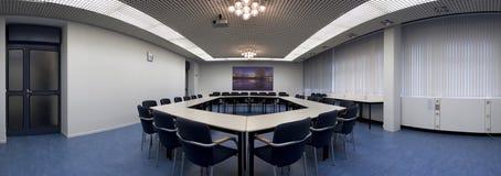 konferensöverblicklokal Arkivbild