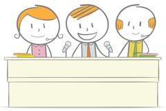 Konferens stock illustrationer