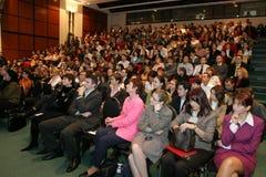 konferens Fotografering för Bildbyråer