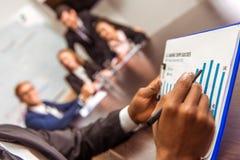 Konferens för affärsfolk Arkivfoton