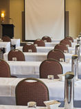Konferens-/mötelokal Arkivbild