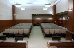 konferenskorridor Arkivbild