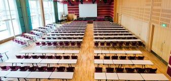 konferenskorridor Arkivfoto
