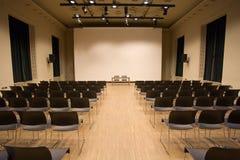 konferenskorridor Arkivfoton