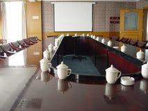 konferenslokal Fotografering för Bildbyråer