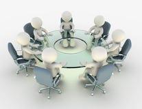 Konferenz Stockbild