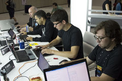 Konferenz 2012 Microsoft-TechEd Lizenzfreie Stockfotografie