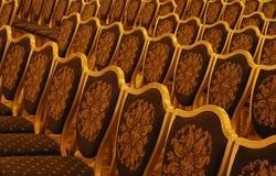 Konferenz-Stühle Stockbild