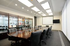 Konferenzsaal Lizenzfreie Stockfotos