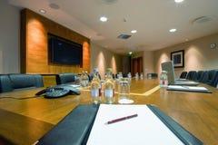 Konferenzsaal-Innenraum Stockfotografie