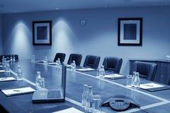 Konferenzsaal-Innenraum, einfarbig Stockfoto