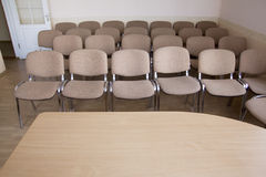 Konferenzsaalinnenraum Stockfotografie