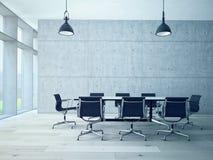 Konferenzsaalinnenraum Lizenzfreies Stockbild
