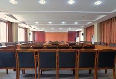 Konferenzsaalplan Lizenzfreies Stockbild