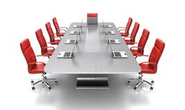 Konferenztisch. Lizenzfreies Stockfoto