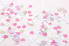 konfetti serce Zdjęcie Royalty Free