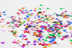 konfettiar Royaltyfria Bilder