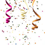 konfettiar Royaltyfri Foto