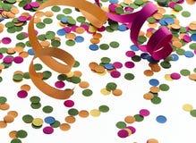konfettiar royaltyfri illustrationer