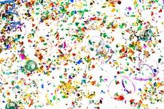 konfettiar Royaltyfri Bild