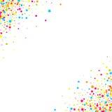 Konfettivektorbakgrund Fotografering för Bildbyråer