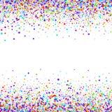 Konfettivektorbakgrund Royaltyfri Bild