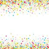 Konfettivektorbakgrund Royaltyfri Foto