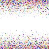 Konfettivektorbakgrund Royaltyfria Foton