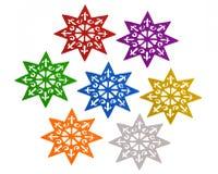 konfiguraci gwiazda Zdjęcia Royalty Free
