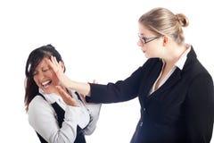 konflikt kobiety Obraz Stock