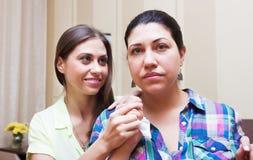 Konflikt zwischen Schwestern Stockfotos