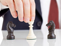 konfliktu zarządzanie Zdjęcia Stock