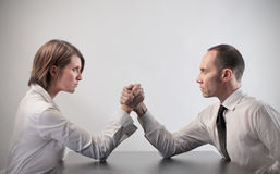 konfrontacja Fotografia Royalty Free