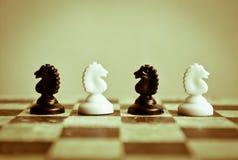 Konfrontation Lizenzfreies Stockfoto