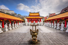 Konfucius relikskrin i Nagasaki royaltyfria foton