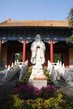 Konfucius staty Royaltyfri Foto