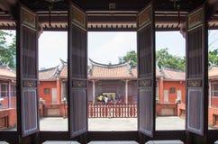 Konfucius tempel av Tainan Royaltyfri Foto