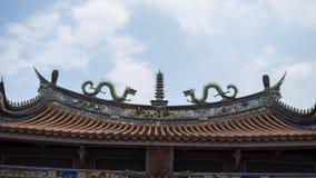 Konfucius tempel av Tainan Royaltyfria Foton
