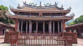 Konfucius tempel av Tainan Arkivbild